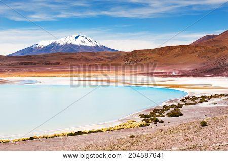 High-altitude Lagoon, Altiplano, Bolivia