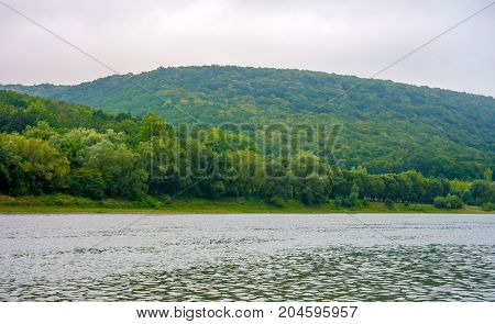 Photo of big beautiful river view from beach