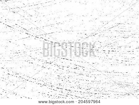 Scratched abstract overlay distressed halftone layout. Dried water grain texture background. Vector illustration