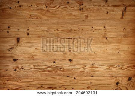 Brown Old Vintage Wooden Planks Background