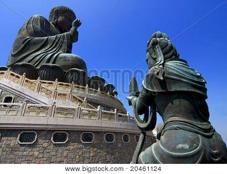 Großer Buddha von Lantau
