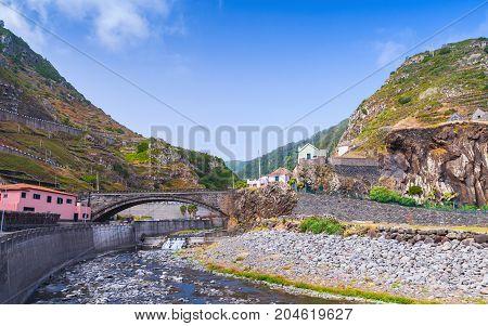 Rural Landscape Of Madeira Island, Portugal