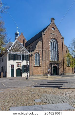 Janskerk Church At A Square In Utrecht