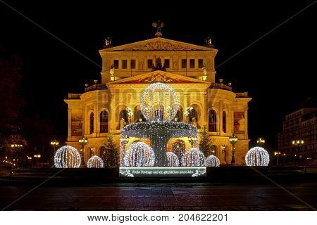 Old Opera (Alte Oper) in Frankfurt am Main