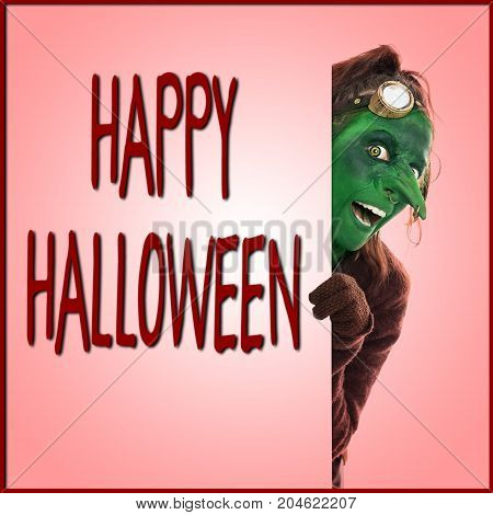 Happy Halloween, Green Goblin Looking Across