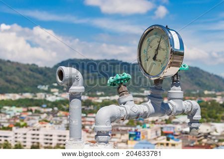 Manometer Pipes In Kpa And Psi