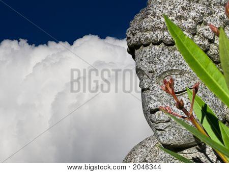 Buddha Closeup Wide