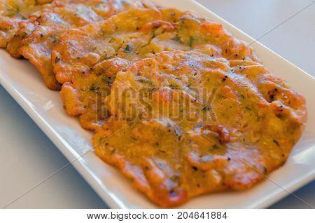Tortillitas De Camarones Shrimp Fritters Omelettes