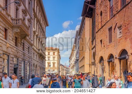 Florence, Italy- May 13, 2017:  Beautiful Landscape  Urbaflorence, Italy- May 13, 2017:  Beautiful L