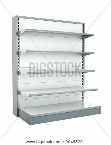 Shop shelf