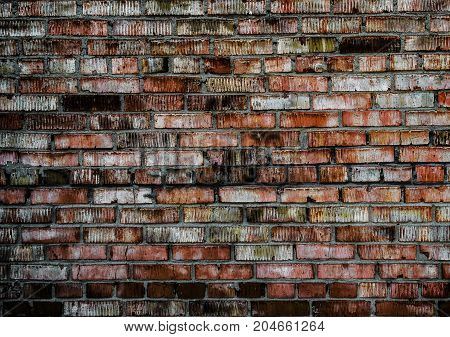 Brick wall. Brick texture. Old brick wall. Rough brick wall. Grunge brick. Brick background. Brick