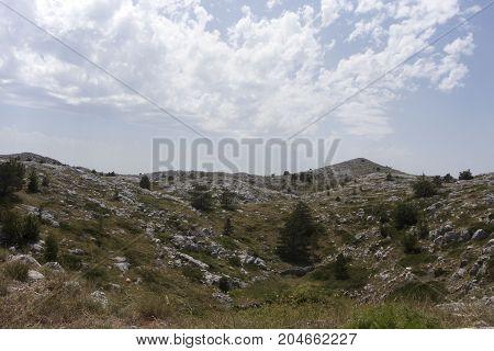 View Of Biokovo Mountain