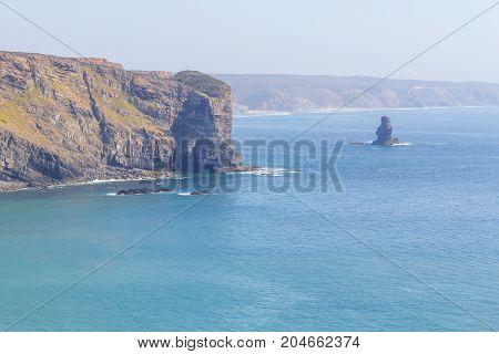 Cliffs And Ocean In Arrifana