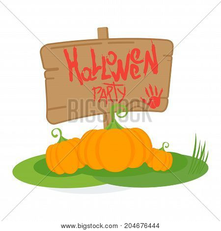 Halloween Party Day Poster