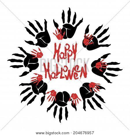 Halloween Zombie Logo