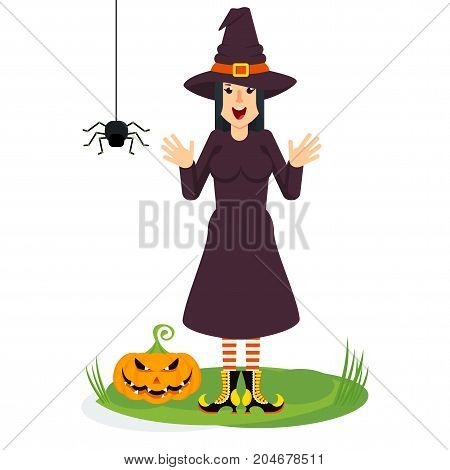 Witch And Spider
