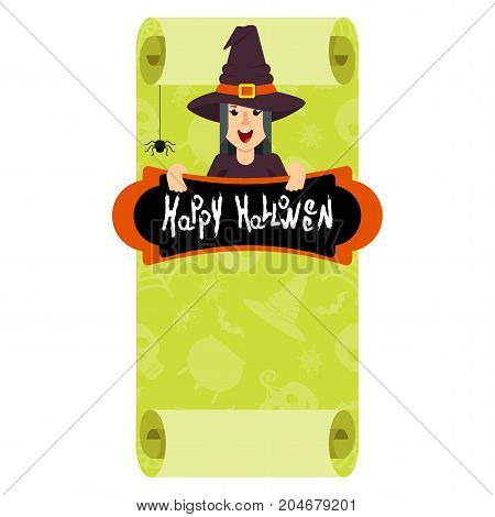 Witch Green Poster
