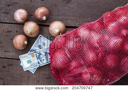 onion, onion pictures in big bags, winter onions paintings, onion and vegetables in large nets