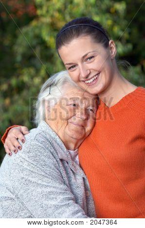 Senior en jongeren