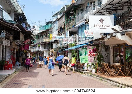 Laidback Community In Sai Kung Village, Hong Kong