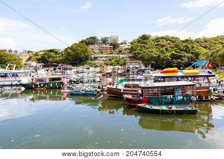 Sai Kung Village In Hong Kong