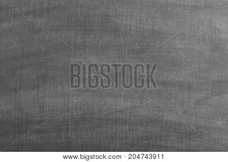 Black Grunge Dirty Empty Chalkboard