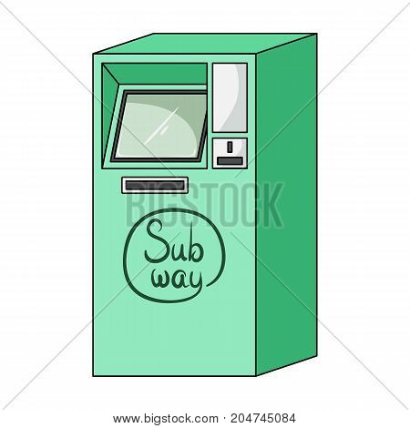 Apparatus, single icon in cartoon style.Apparatus vector symbol stock illustration .