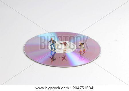 Fun Of Tiny Toy Skaters On Cd