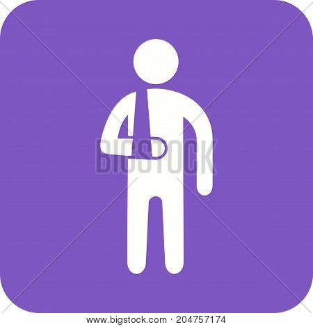 Doctor, hospital, patient icon vector image. Can also be used for Personality Traits. Suitable for web apps, mobile apps and print media.