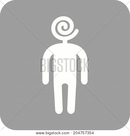 People, sweet, happy icon vector image. Can also be used for Personality Traits. Suitable for mobile apps, web apps and print media.