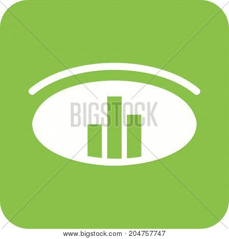 Data, analysis, graph icon vector image. Can also be used for Data Analytics. Suitable for web apps, mobile apps and print media.