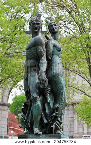 Bailey Fountain - New York City