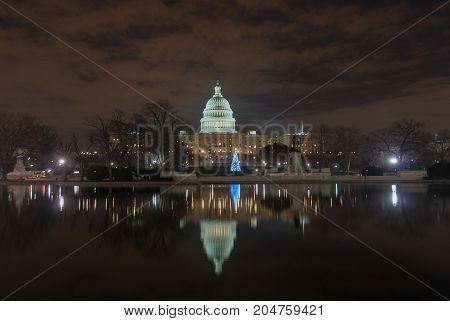 United States Capitol Building - Washington, Dc