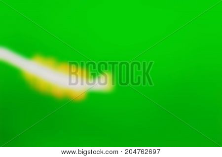 Abstract Blur Of Green Texture And Background