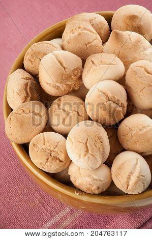 Thai ancient cookie called Ka-nom-pink - stock image