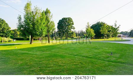 Park in Russia Moscow with its Nature