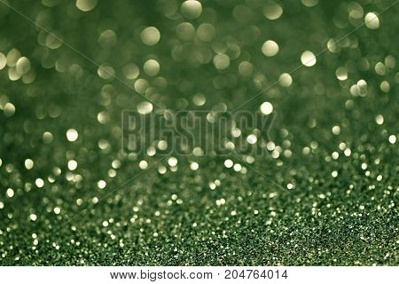 Festive Christmas abstract bokeh background with shining lights