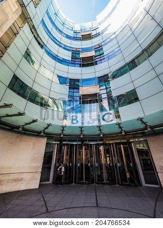 Bbc Broadcasting House In London (hdr)