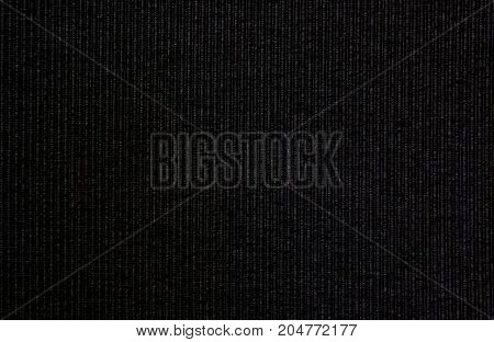 floor and wall covering pattern fabric. Repeating texture of black carpet