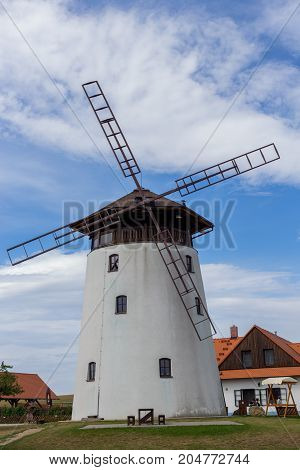 Rustical Windmill In The South Moravia