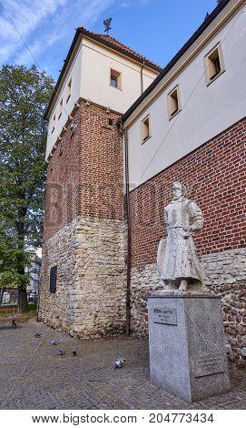 Piast Castle In Gliwice (poland)..