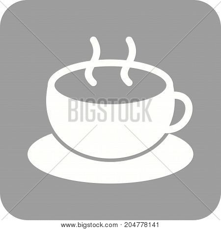 Mug, coffee, cup icon vector image. Can also be used for Cafe and Bar. Suitable for web apps, mobile apps and print media.