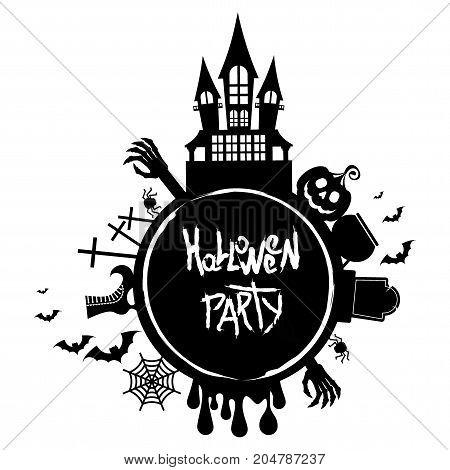 Halloween Party Logo