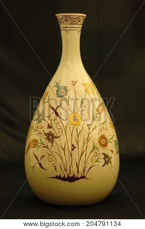 Oriental Antique Ceramic Vase
