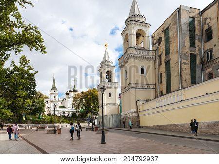 Zabelina Street Near Wall Of Ivanovsky Convent