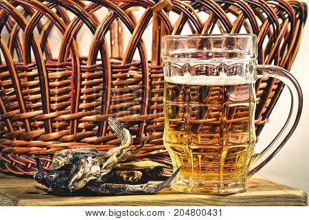 Beer Foam Rustic Fish