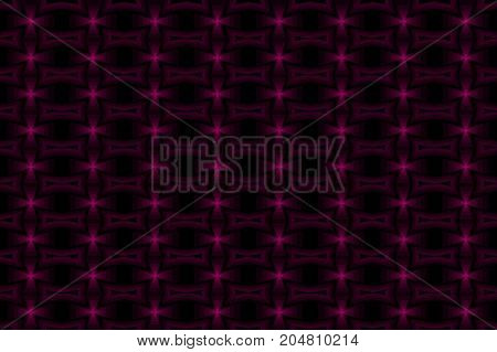 Cross - abstract vector pattern - purple