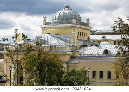 Dome Of Moscow Choral Synagogue