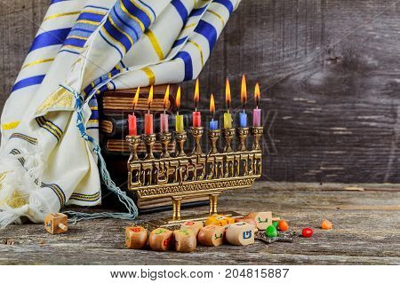 Star Of David Hanukkah Menorah