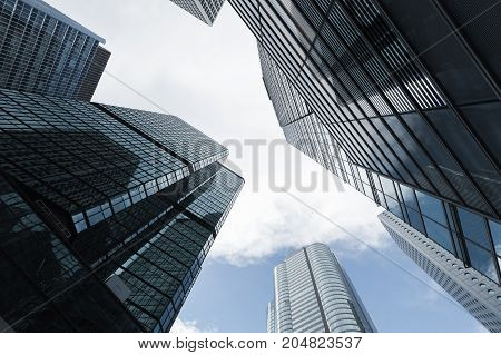 Business Skyscrapers, High-rise Office Buildings